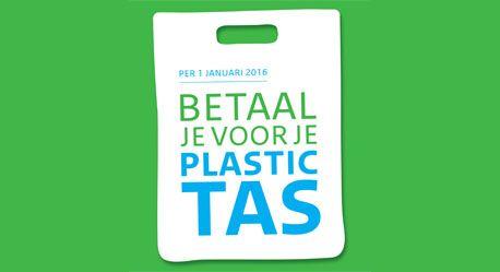 Betalen voor plastic tasjes in 14 talen